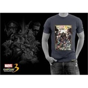Marvel vs Capcom 3 Fate Of Two Worlds Game T-Shirt Large