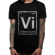Marvel Comics - Vibranium Men's Medium T-Shirt - Black