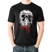 Friday The 13Th - Mask Men's Large T-Shirt - Black