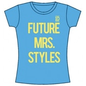 One Direction Future Mrs Styles Skinny Blue TS: Small
