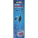 Game Devil 2 in 1 USB Charging Cable PS4