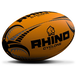 Rhino Cyclone  Rugby Ball Fluo Orange - Size 3 - Image 2
