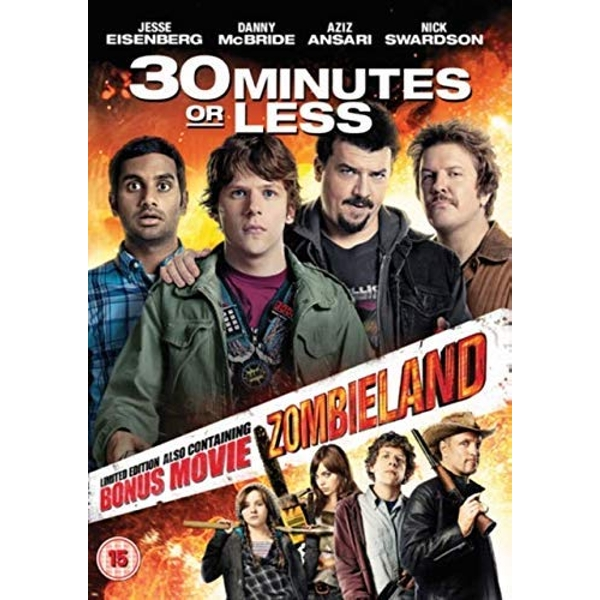 2 Film Collection - 30 Minutes Or Less + Zombieland DVD