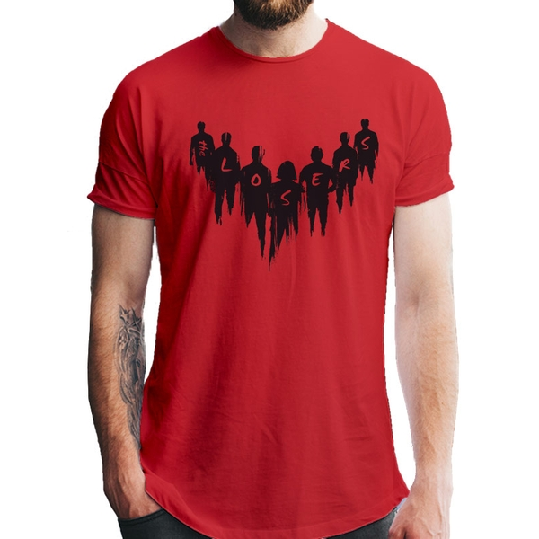 It Chapter 2 - Unisex The Losers T-Shirt (Red)