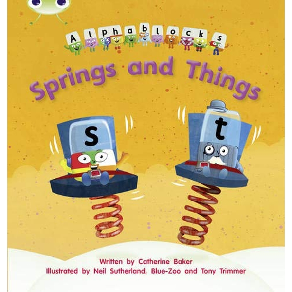 Phonics Bug Alphablocks Set 12 Springs and Things by Catherine Baker (Paperback, 2011)