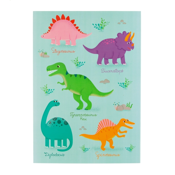 Sass & Belle Roarsome Dinosaurs A4 Sketchpad