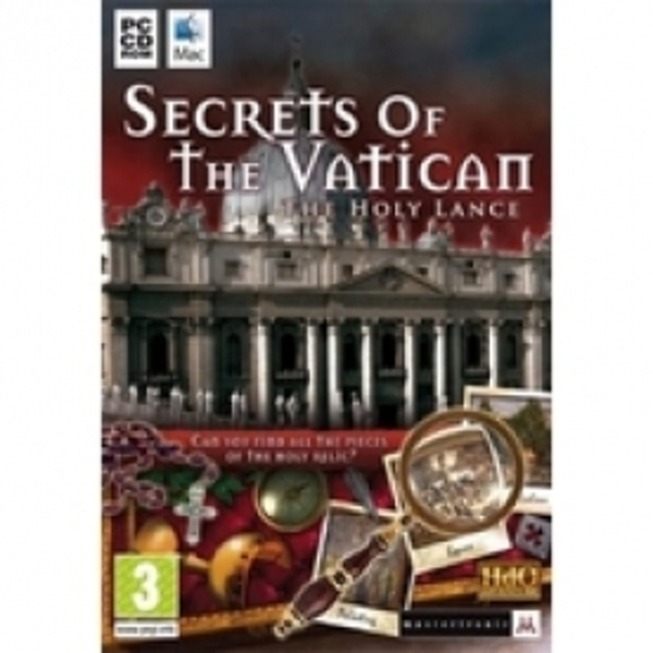 Secrets Of The Vatican The Holy Lance Game PC & Mac