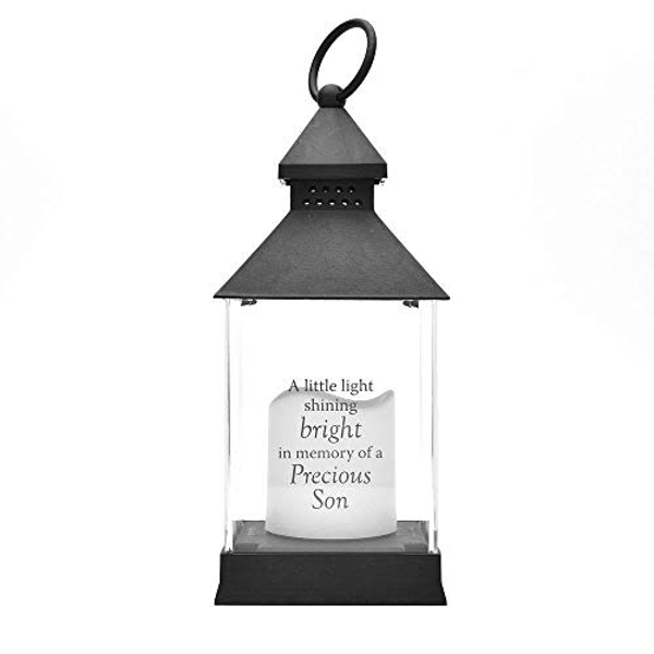 Thoughts of You Black Memorial Lantern - Son