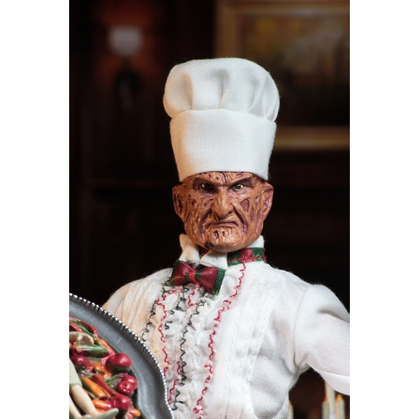 Chef Freddy (Nightmare on Elm Street) 8 Inch Neca Clothed Figure - Image 2