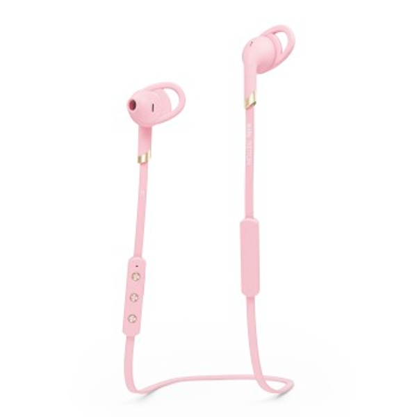 Sudio | Tretton | Bluetooth Sport Headset | In-ear Water Resistant Wireless Headphones | Pink