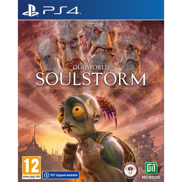 Oddworld Soulstorm Day 1 Oddition PS4 Game