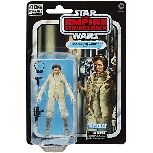 Princess Leia Hoth (Star Wars) Black Series 40th Anniversary Retro Action Figure
