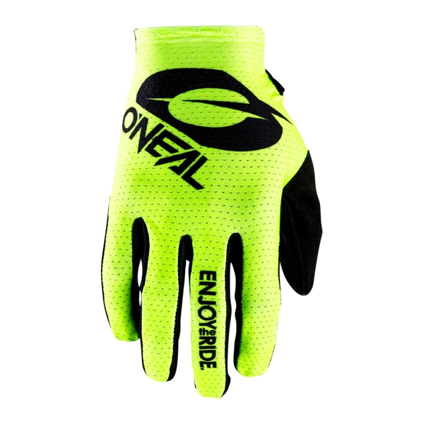 Matrix Glove Stacked Neon Yellow S/8