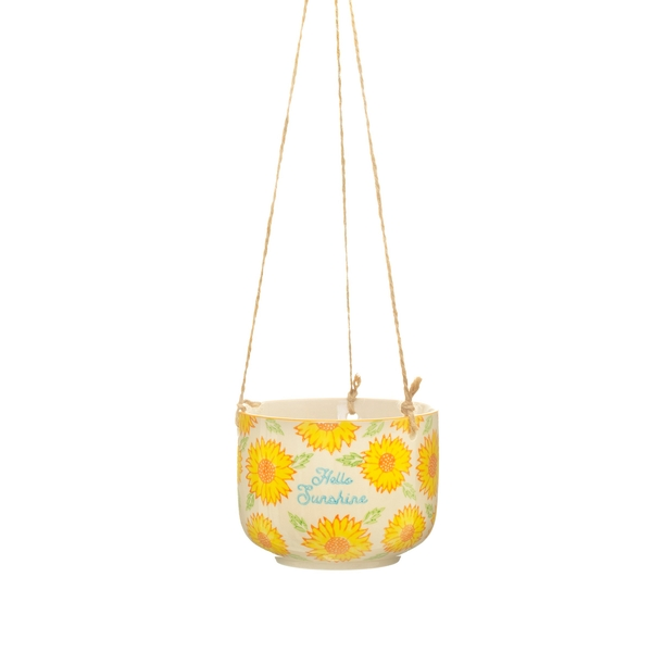 Sass & Belle Sunflower Mum Hanging Planter