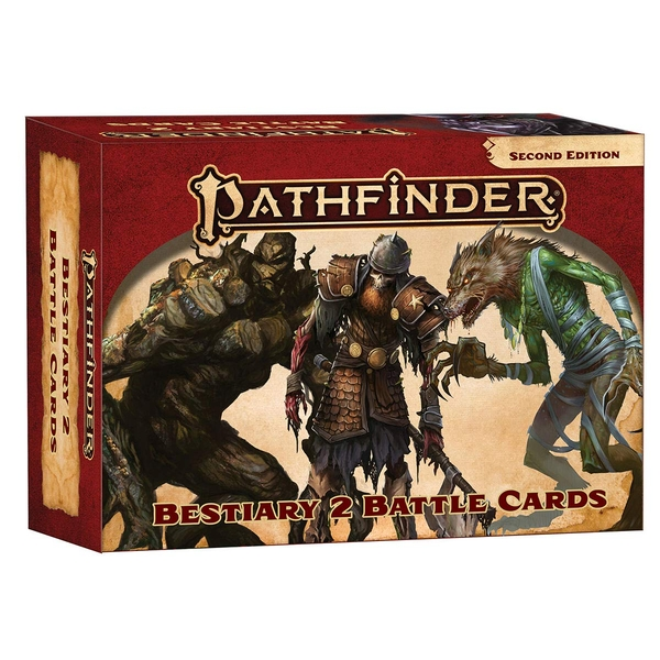 Pathfinder 2nd Edition - Bestiary 2 Battle Cards (P2)