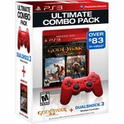God of War Collection + Official Dualshock Red Controller PS3