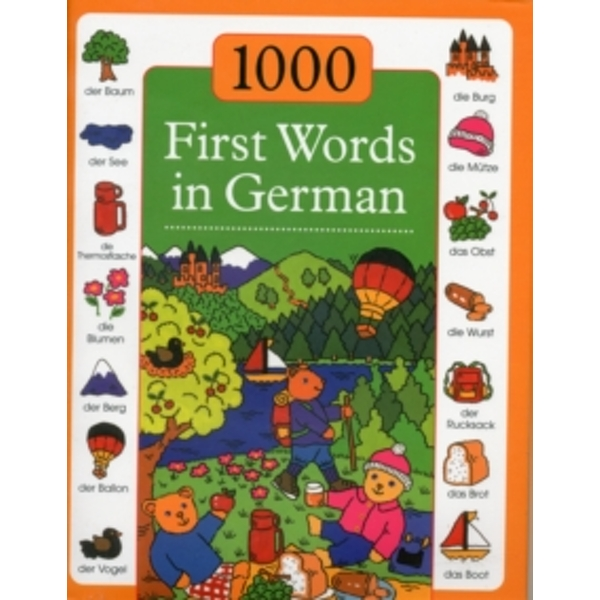 Image of 1000 First Words in German