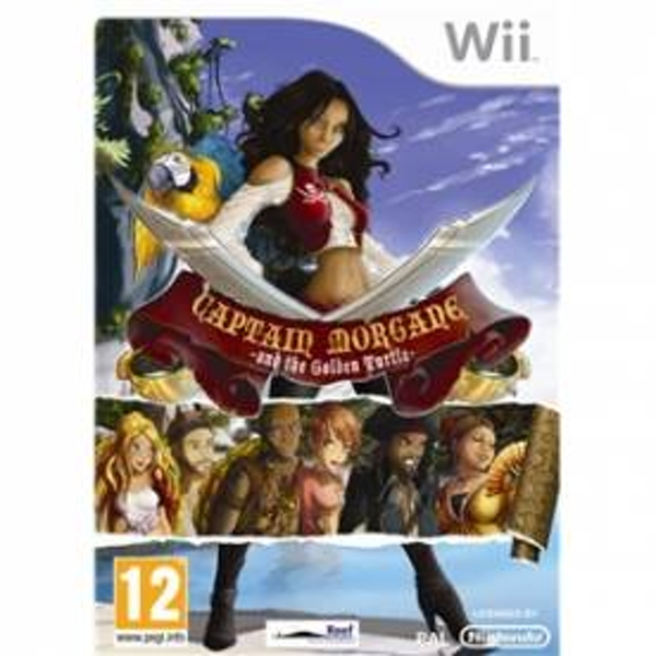 Captain Morgane and the Golden Turtle Game Wii