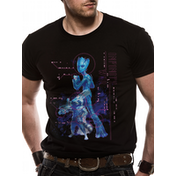 The Avengers Infinity War - Neon Groot Men's Small T-Shirt - Black