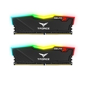 Team DELTA RGB 8GB Black Heatsink with RGB LEDs (2 x 4GB) DDR4 2400MHz DIMM System Memory