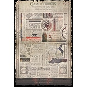 Game of Thrones - Infographic Maxi Poster