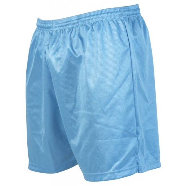 Precision Micro-stripe Football Shorts 18-20 inch Sky Blue