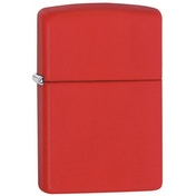Zippo Regular Red Matte Lighter