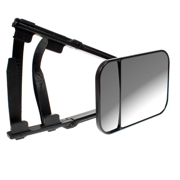Large Caravan Towing Mirror - Black