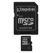 Kingston 16Gb microSDHC SDC4/16GB