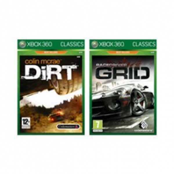 Race Driver Grid & Dirt Double Pack Game (Classics) Xbox 360