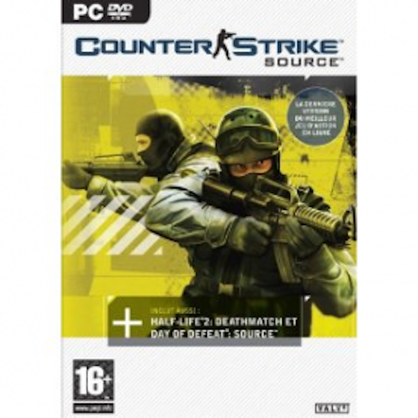 Counter Strike Source Game PC