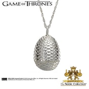 Game of Thrones Sterling Silver Dragon Egg Pendant
