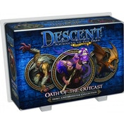 Descent 2nd Edition Oath Of The Outcasts Expansion Board Game