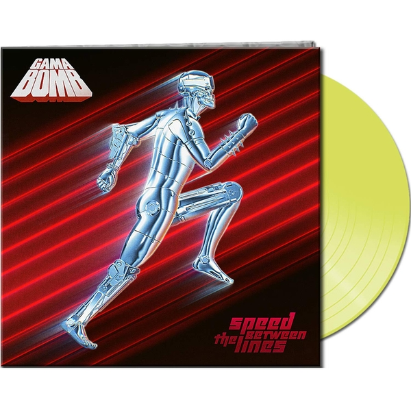 Gama Bomb - Speed Between The Lines Yellow  Vinyl