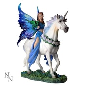 Gothic Fairy Unicorn Realm Of Enchantment Anne Stokes Statue