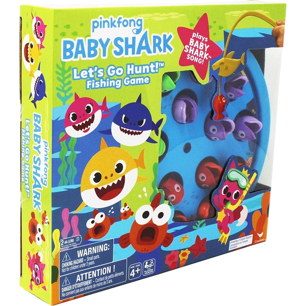 Pinkfong Baby Shark - Lets Go Hunt! Fishing Game & Song