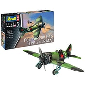 Polikarpov I-16 type 24 Rata 1:32 Revell Model Kit