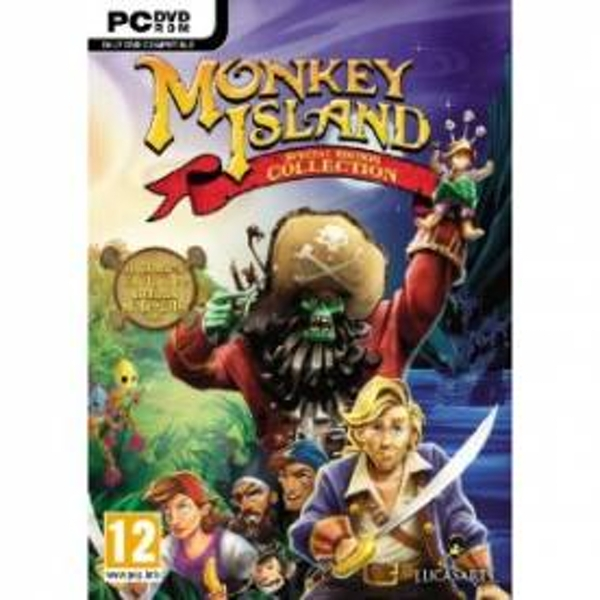 Monkey Island Special Edition Collection Game PC