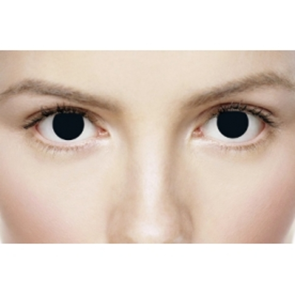 Black Out 1 Month Halloween Coloured Contact Lenses (MesmerEyez XtremeEyez) - Image 4