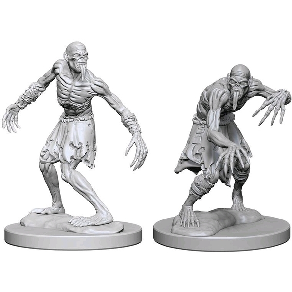 Dungeons & Dragons Nolzur's Marvelous Unpainted Miniatures (W1) Ghouls