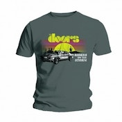 The Doors Riders Mens Grey T Shirt: Medium