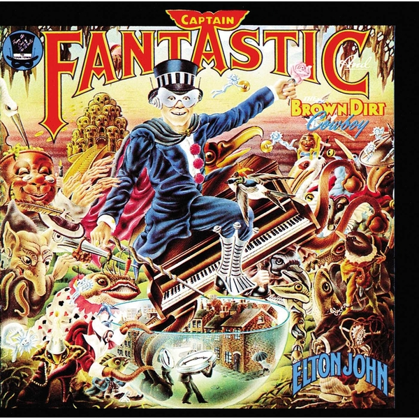 Elton John - Captain Fantastic And The Brown Dirt Cowboy Vinyl
