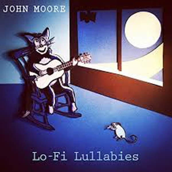 John Moore ‎– Lo-Fi Lullabies Limited Edition Blue Vinyl