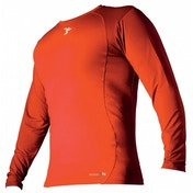 PT Base-Layer Long Sleeve Crew-Neck Shirt Small Boys Orange