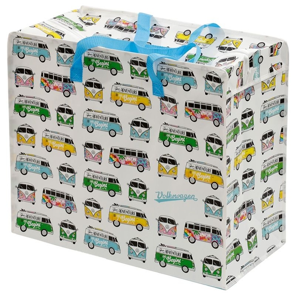 Volkswagen VW T1 Camper Bus Surf & Summer Love Laundry Storage Bag