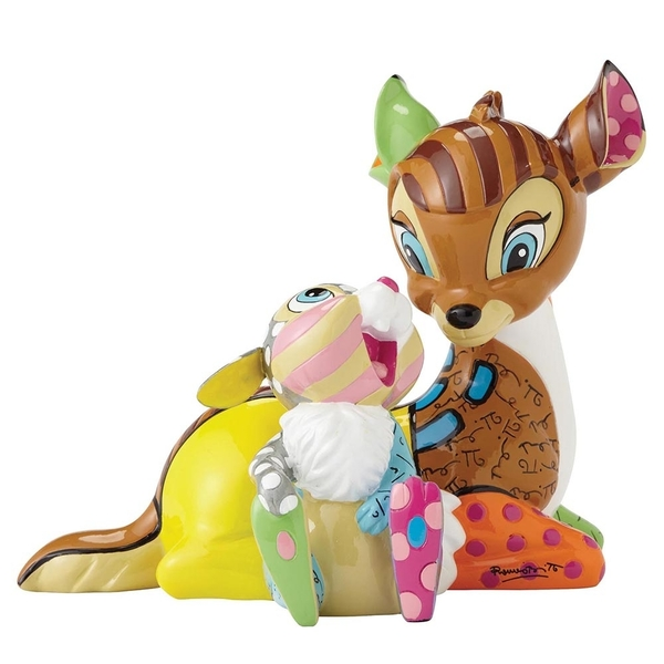 Bambi & Thumper Disney Britto Figurine