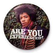 Jimi Hendrix - Experienced Badge