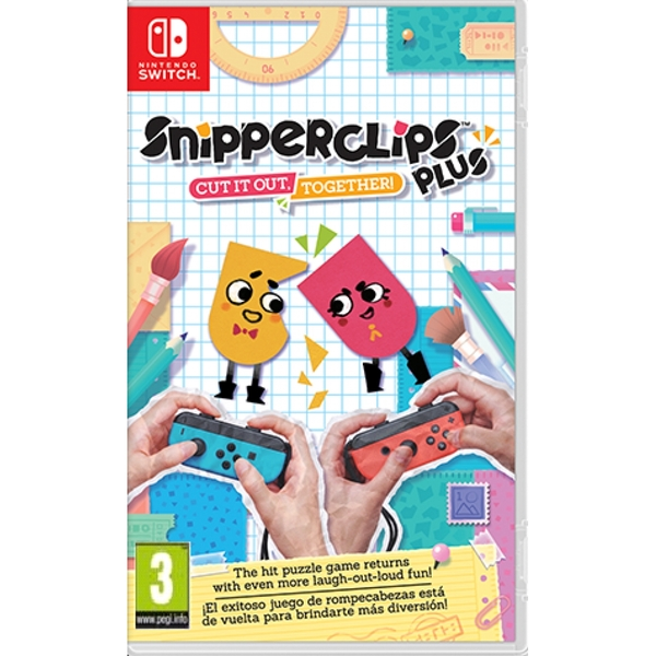 Snipper Clips Plus Cut It Out Together! Nintendo Switch Game - Image 1