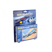 Boeing 747-200 1:450 Revell Model Set