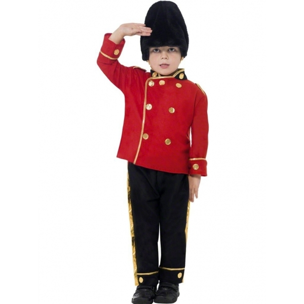 Busby Guard Costume Age 4-6 One Colour